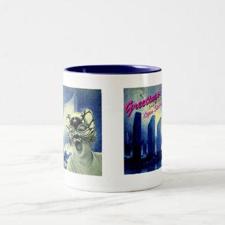 Greetings 2 mug