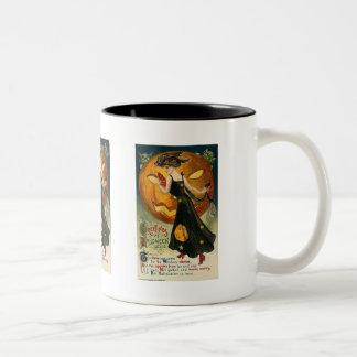 Greetings at Halloween the Time has Come Coffee Mug