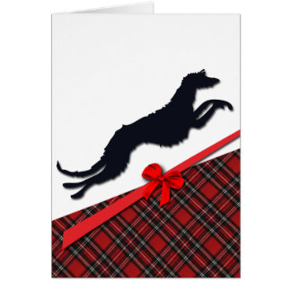 Greetings card Deerhound