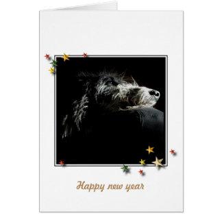 Greetings card Deerhound