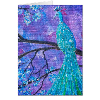 Greetings card - Promotion - the Peacock