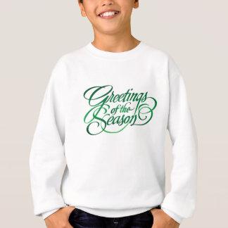 Greetings for the Season - Green Sweatshirt