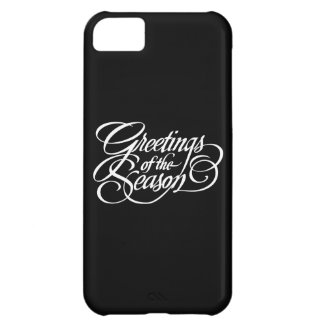 Greetings for the Season - White iPhone 5C Case