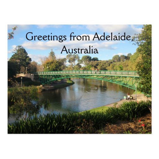 Greetings from Adelaide, Australia Post Card