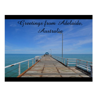 Greetings from Adelaide Australia Postcard