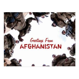 Greetings From Afghanistan postcard