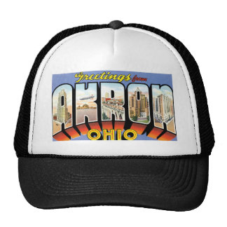 Greetings from Akron, Ohio! Cap