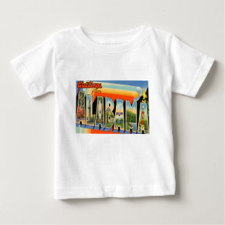 Greetings From Alabama Baby T-Shirt