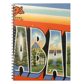 Greetings From Alabama Notebook