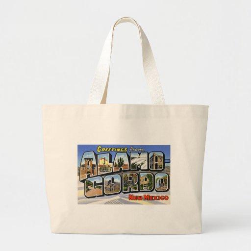 Greetings from Alamo Gordo New Mexico Bag