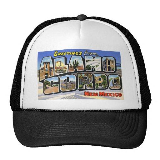 Greetings from Alamo Gordo New Mexico Mesh Hat