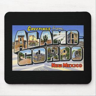 Greetings from Alamo Gordo New Mexico Mousepad