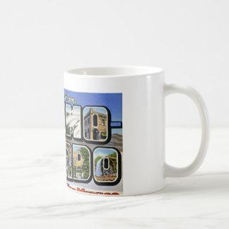 Greetings from Alamo Gordo New Mexico Coffee Mug