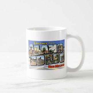 Greetings from Alamo Gordo New Mexico Mugs