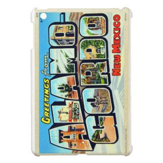 Greetings From Alamogordo, NM Letter Postcard iPad Mini Cases