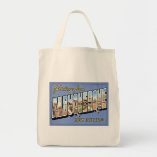 Greetings From Albuquerque, New Mexico Bag