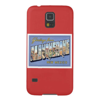 Greetings From Albuquerque, New Mexico Samsung Galaxy Nexus Cover