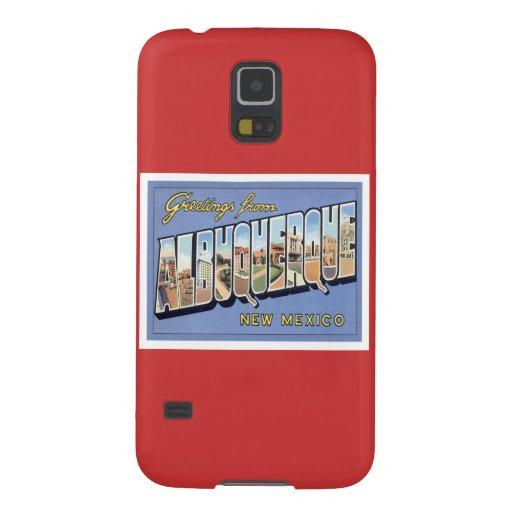 Greetings From Albuquerque, New Mexico Samsung Galaxy Nexus Cover