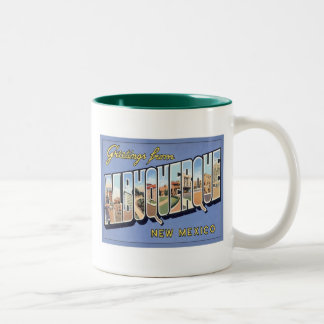 Greetings From Albuquerque, New Mexico Coffee Mug