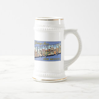 Greetings from Albuquerque, New Mexico Coffee Mugs