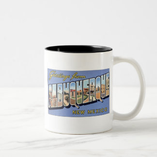 Greetings from Albuquerque, New Mexico Mugs