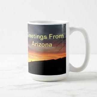 Greetings From Arizona cup Coffee Mug