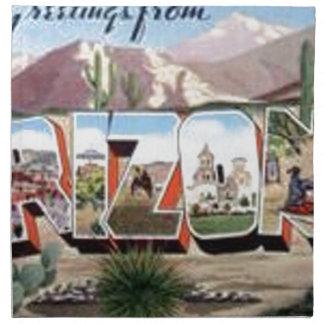 Greetings from Arizona Napkin