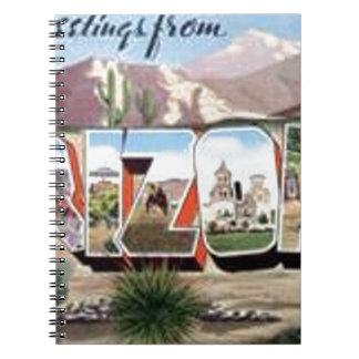 Greetings from Arizona Notebook
