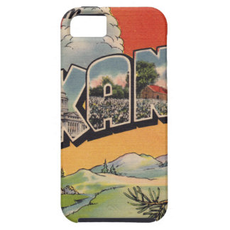 Greetings from Arkansas iPhone 5 Case