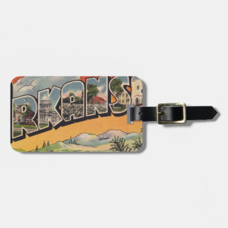 Greetings from Arkansas Luggage Tag