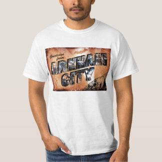 Greetings from Arkham City T Shirts
