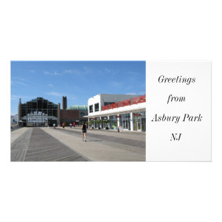 Greetings from Asbury Park, NJ Personalised Photo Card