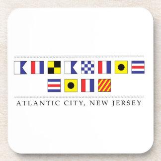 Greetings from Atlantic City Beverage Coasters