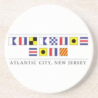 Greetings from Atlantic City Coaster