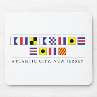 Greetings from Atlantic City Mouse Pad