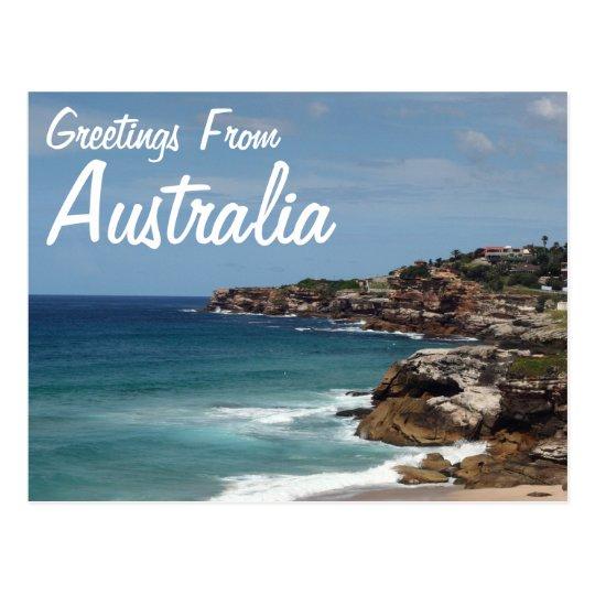 Greetings from australia postcard zazzle greetings from australia postcard m4hsunfo