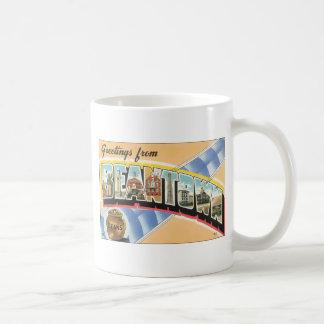 Greetings From Beantown Beans, Vintage Coffee Mugs