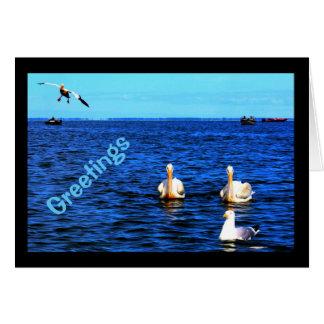 Greetings From Beautiful Lake Winnebago Card