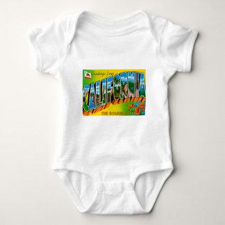 Greetings From California Baby Bodysuit