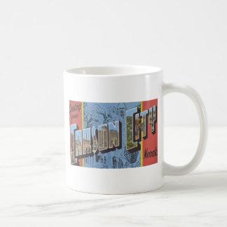 Greetings From Carson City Nevada, Vintage Coffee Mug