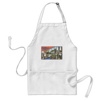 Greetings From Catskill Mts., Vintage Adult Apron