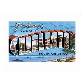 Greetings from Charleston, South Carolina! Postcard