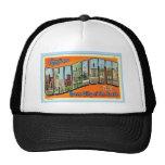Greetings From Charlotte N.C. , Vintage Trucker Hat