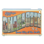 Greetings From Charlotte N.C. , Vintage iPad Mini Cover