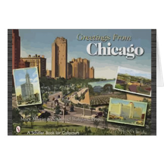 Greetings from Chicago Greeting Card