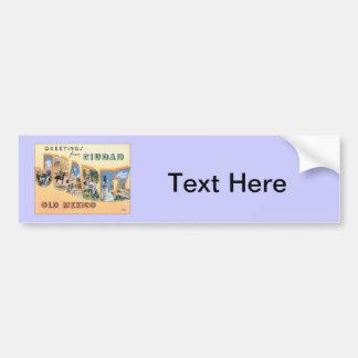 Greetings From Ciudad Juarez Car Bumper Sticker