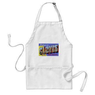 Greetings from Clovis New Mexico Apron