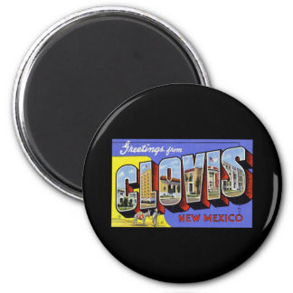 Greetings from Clovis New Mexico Magnets