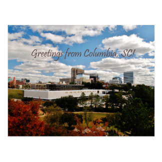 Greetings from Columbia, SC Postcard