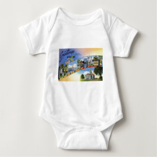 Greetings From Connecticut Baby Bodysuit
